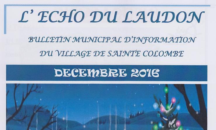 Echo Du Laudon N U00b0 59 De D U00e9cembre 2016    Echo Du Laudon De